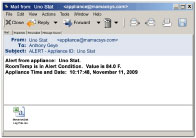 MaverickStat Email Alert with CSV File