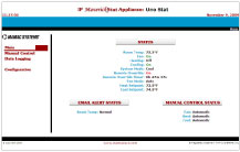 IP MaverickStat Appliance Main Page